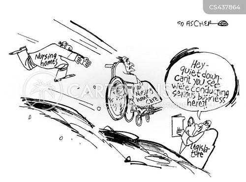 Senior Citizens News and Political Cartoons