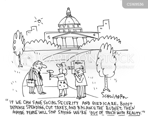 Social Security News and Political Cartoons