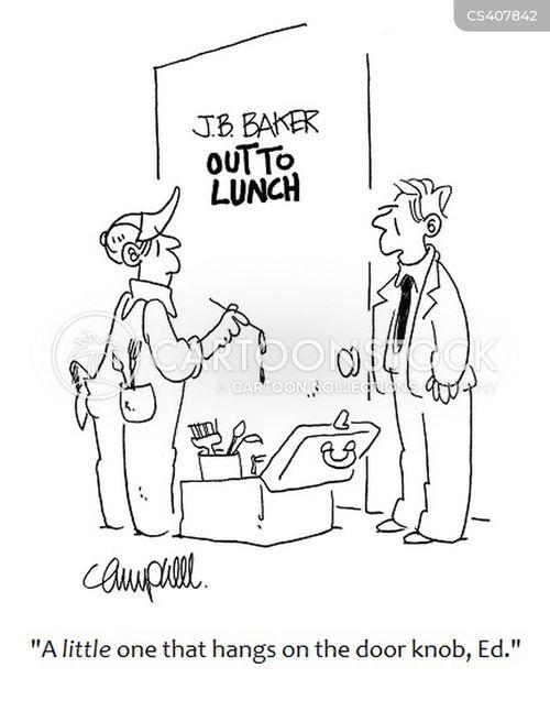 Out To Lunch Pictures : lunch, pictures, Out-to-lunch, Cartoons, Comics, Funny, Pictures, CartoonStock