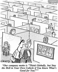Think Globally Cartoons and Comics - funny pictures from ...
