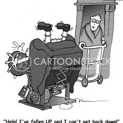 Chair Lift Accident Fake Wood Adirondack Chairs Wheelchair Cartoons And Comics - Funny Pictures From Cartoonstock