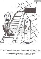 lift stair stairlift cartoon funny cartoons illustration mobility cartoonstock comics retirement