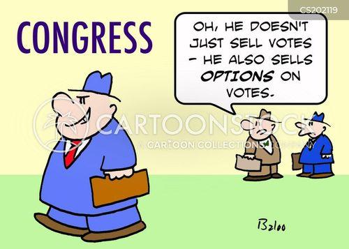 Image result for cartoon of corrupt congressman