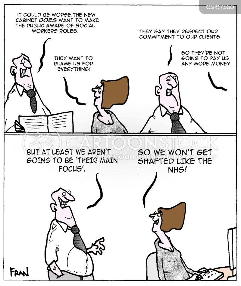Public Sector Workers Cartoons and Comics  funny pictures