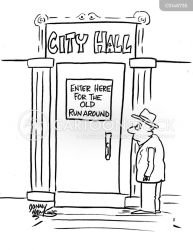 Town Politics Cartoons and Comics funny pictures from CartoonStock