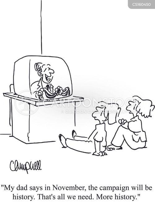 Cartoons und Karikaturen mit Lernen