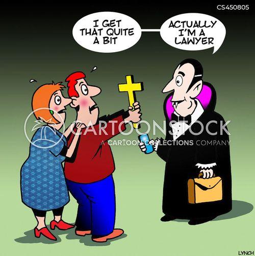 Vampiric Cartoons and Comics - funny pictures from CartoonStock