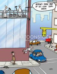 window cleaners cartoon funny cleaning cartoons cleaner job windshield cartoonstock comics side