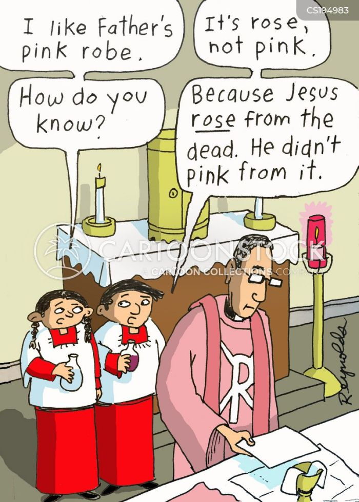 Altar Boy Cartoons and Comics - funny pictures from CartoonStock