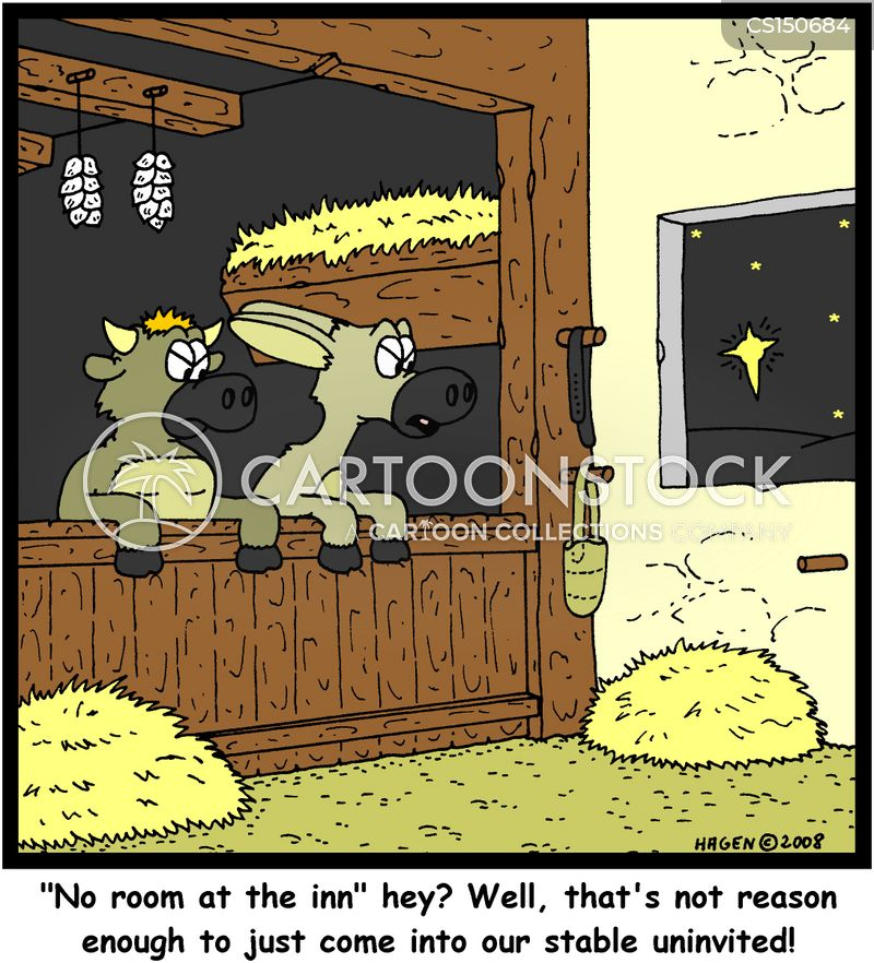 No Room At The Inn Cartoons And Comics Funny Pictures
