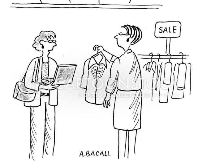 Price Check Cartoon