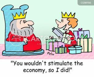 shopping going cartoon cartoons funny cartoonstock queen