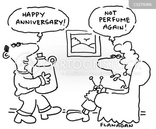 anniversary gift cartoons and