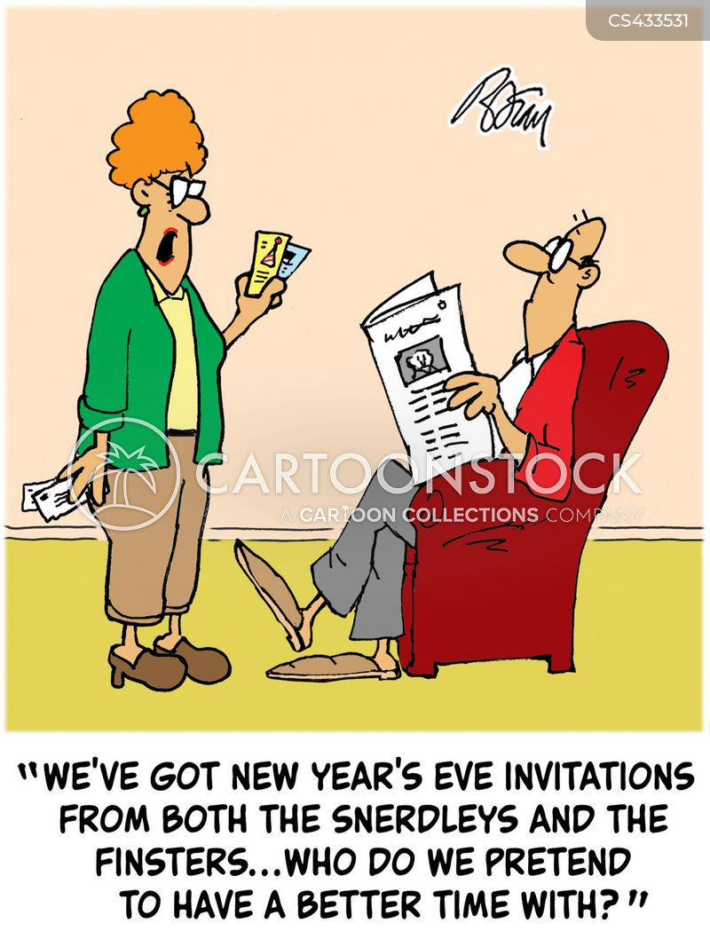 Funny New Years Pics : funny, years, Years, Party, Cartoons, Comics, Funny, Pictures, CartoonStock