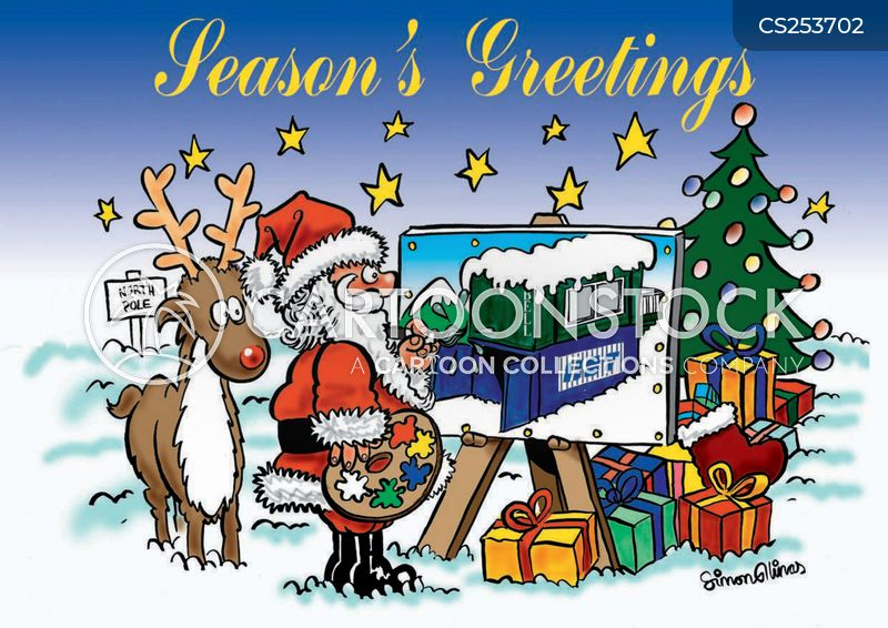 Seasons Greetings Cartoons And Comics Funny Pictures