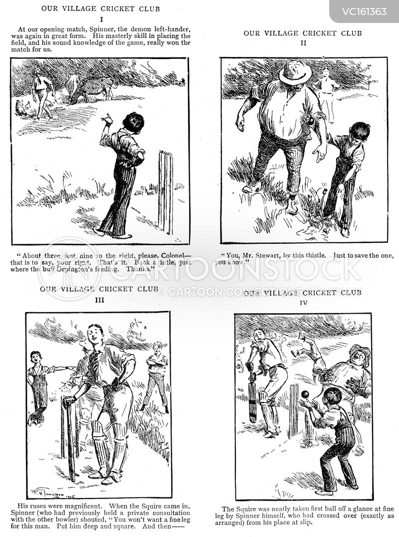 Fielder Vintage and Historic Cartoons