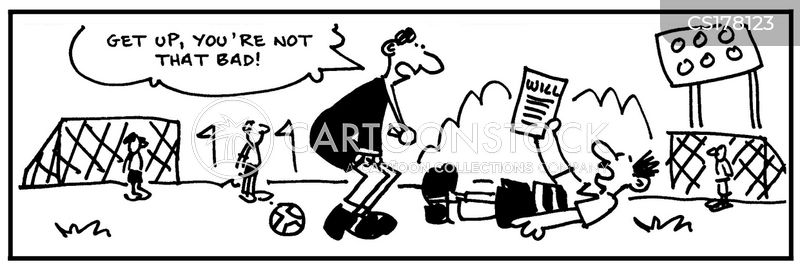 Cartoon Sports Referee Stock Illustration Illustration Of