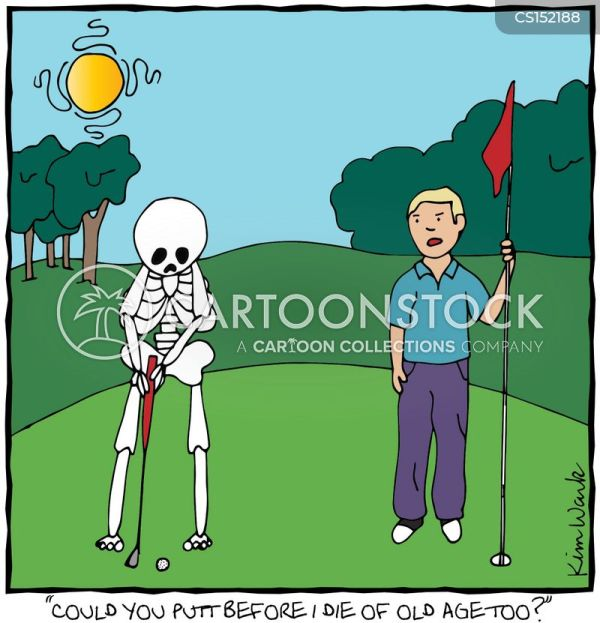 Dying Of Age Cartoons And Comics - Funny