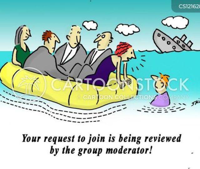 Moderators Cartoon