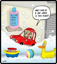 Bathroom Cartoons and Comics funny pictures from CartoonStock