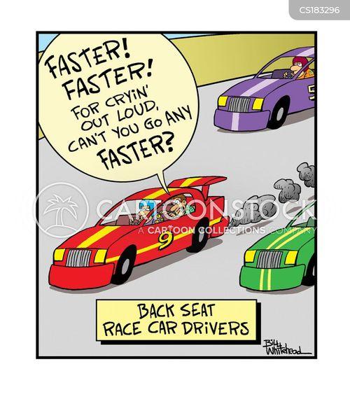 Funny Racing Images : funny, racing, images, Racing, Cartoons, Comics, Funny, Pictures, CartoonStock