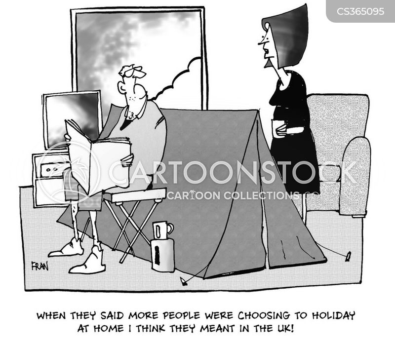Holidays At Home Cartoons And Comics Funny Pictures From Cartoonstock