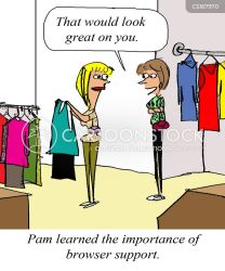 Clothes Shop Cartoons and Comics funny pictures from CartoonStock