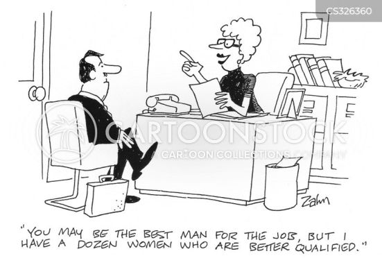 Women At Work Cartoons and Comics - funny pictures from CartoonStock