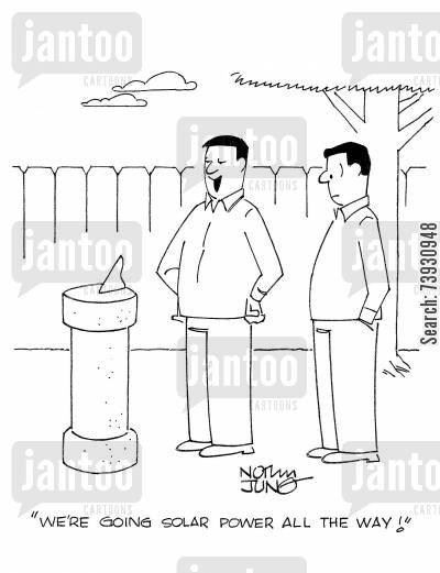 Solar Panels Cartoons