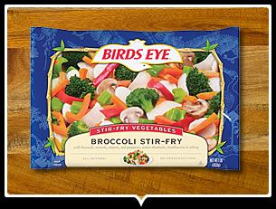Vegetable Recipes from Birds Eye