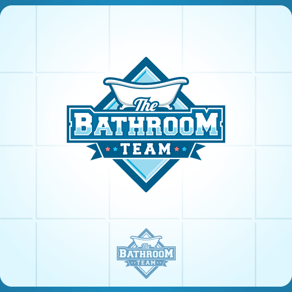 Competition Bathroom Team  Stock Logos  Logo Design