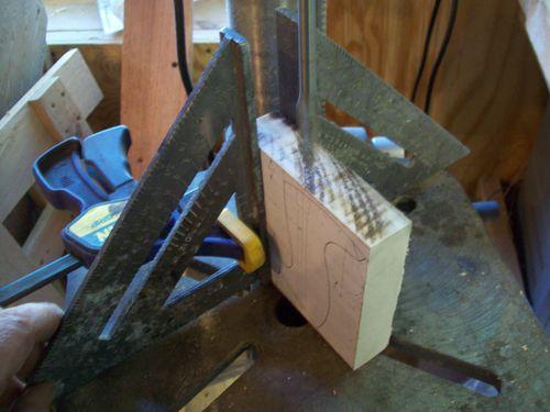 Making a Bench Plane tote. (2/6)