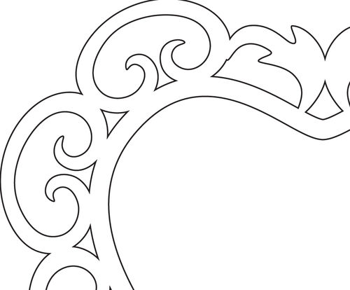 My Journey As A Scroll Saw Pattern Designer #567: On the