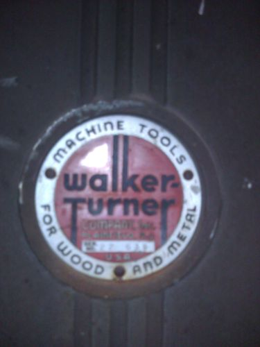 """Walker Turner 16""""Bandsaw. The things that dreams are made of. (3/6)"""