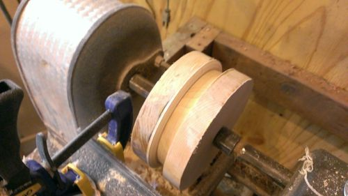 Shop built Thickness-Drum Sander (4/6)