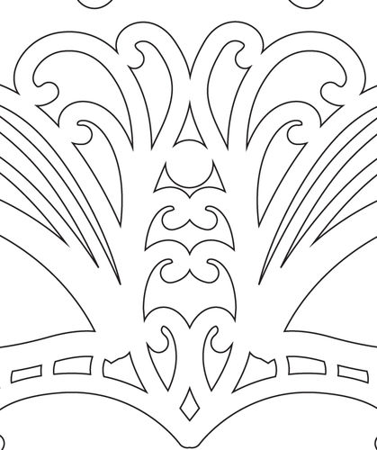 My Journey As A Scroll Saw Pattern Designer #939: Slow and
