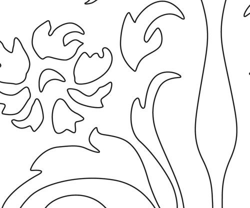 My Journey As A Scroll Saw Pattern Designer #1089: Drawing