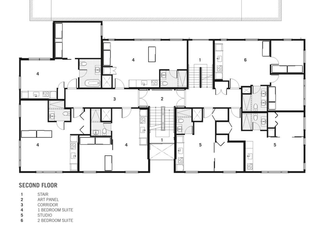 hight resolution of cambie apartments
