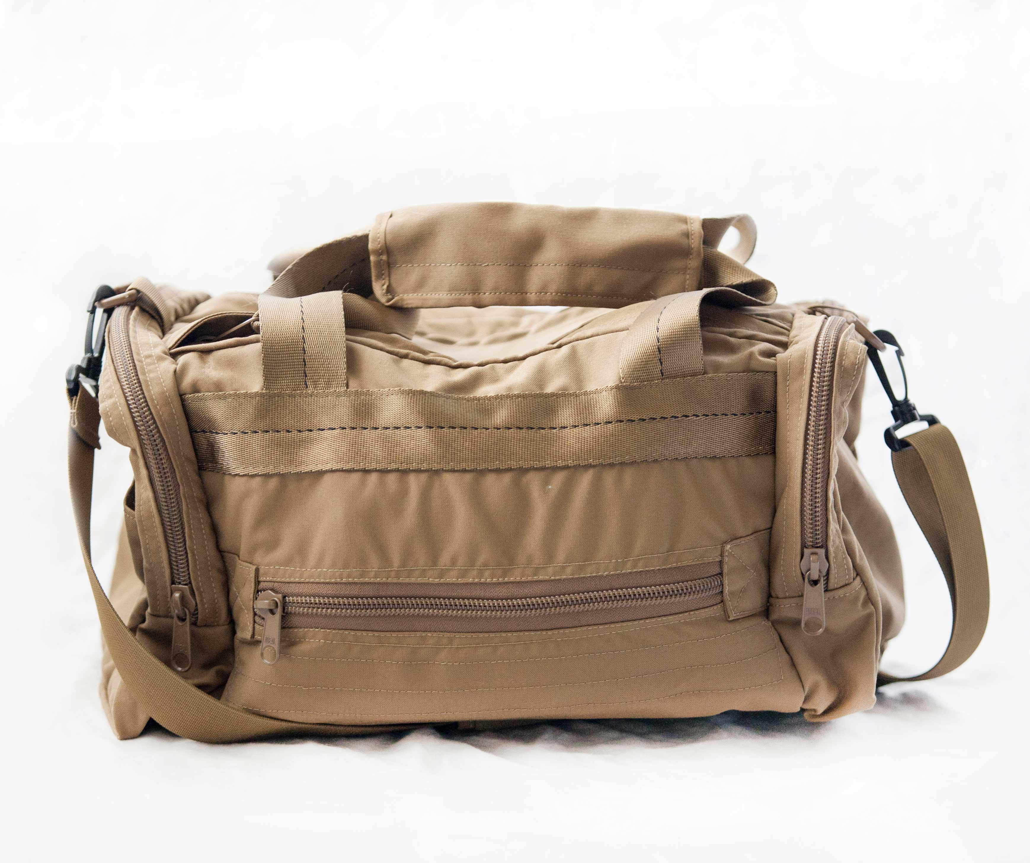 Tan US Made Gun Bag