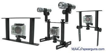 GoPro Cameras / Speargun Camera Brackets