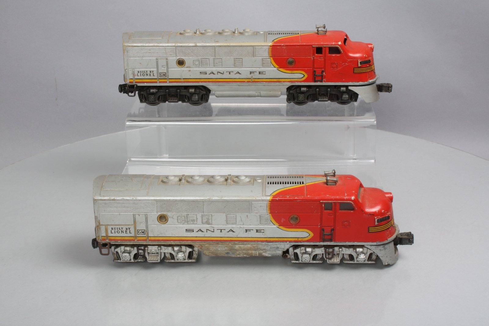 hight resolution of lionel 2353 santa fe f 3 a diesel locomotives non powered a engine