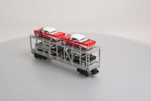 small resolution of mth 30 7656 mth auto carrier w 4 die cast 1957 chevy automobiles