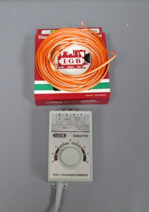 small resolution of lgb g scale track wire transformer watchman tower 12 ex lgb