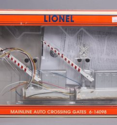 photo from seller buy lionel 6 14098 mainline automatic crossing gates  [ 1600 x 999 Pixel ]
