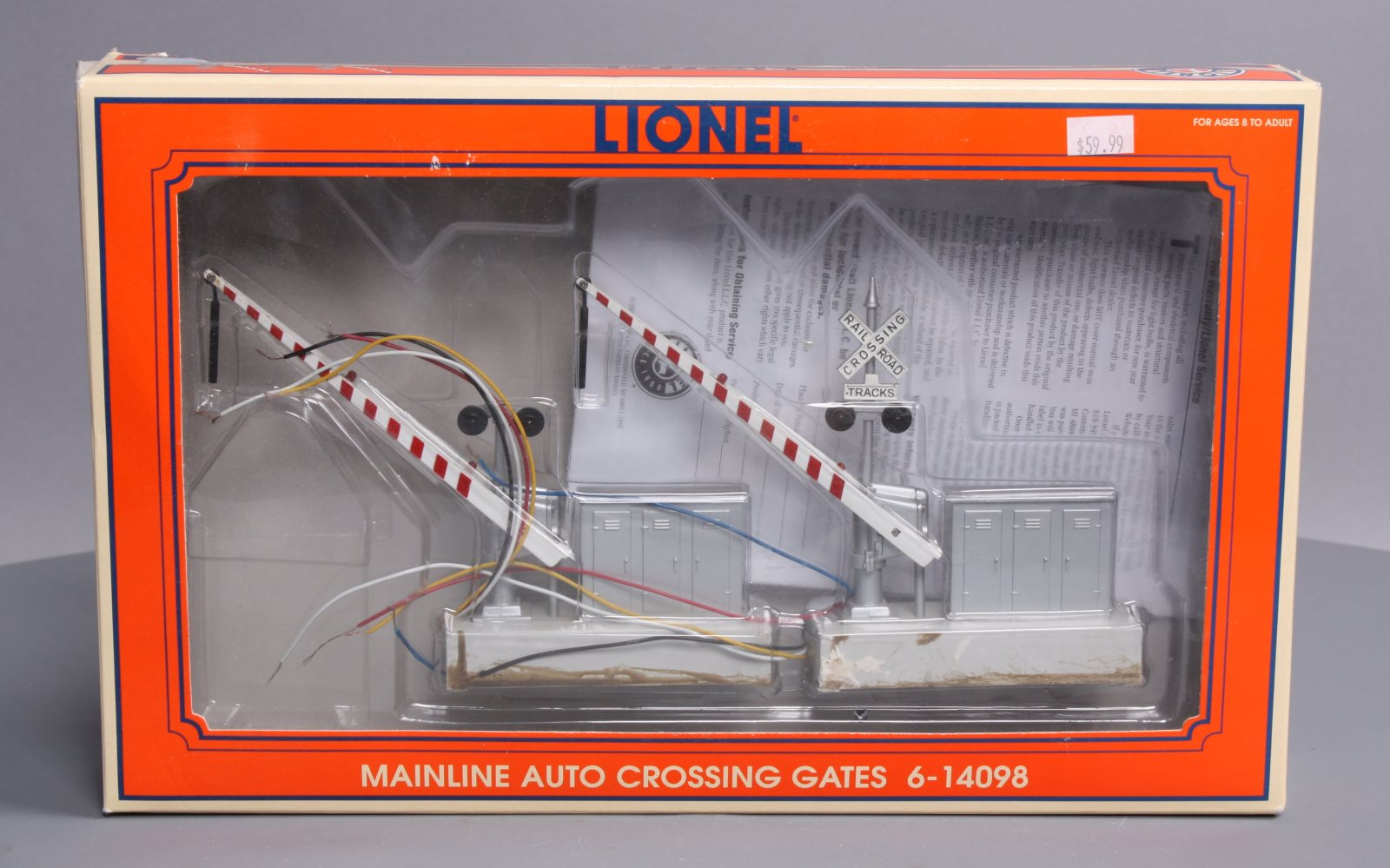 hight resolution of photo from seller buy lionel 6 14098 mainline automatic crossing gates