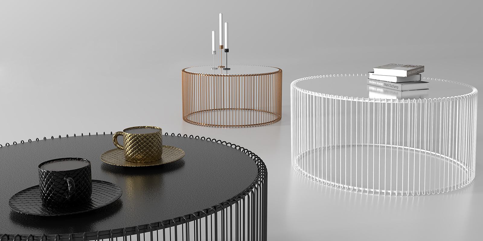 coffee table wire