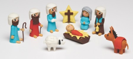 puzzle eraser nativity