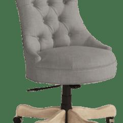 Tufted Desk Chair Blue Velvet Elle Matchbook Magazine