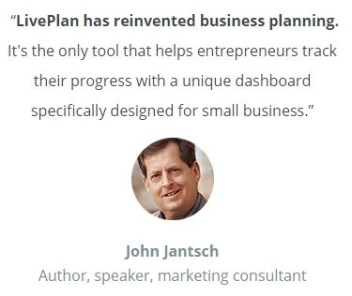 Get 1 Year of LivePlan now!