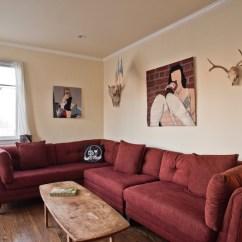 Sofa Art Gallery Full Grain Leather Sale Feels Like Home Andres Guerrero Opens His As Artslant